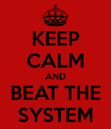 keep-calm-and-beat-the-system